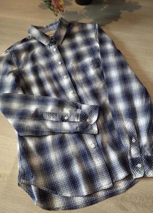Брендовая рубашки в клетку