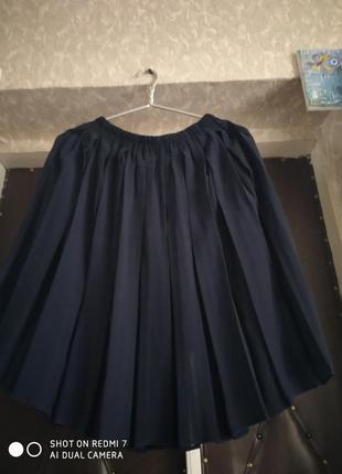 """Легкая юбка """"в складочку"""""""