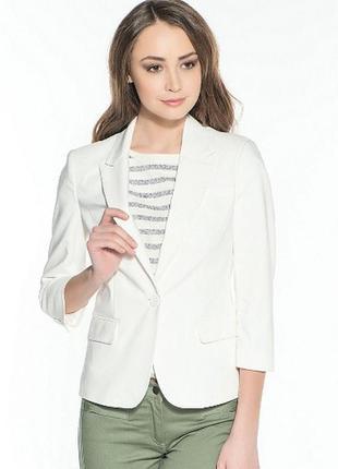 Белый пиджак incity xs