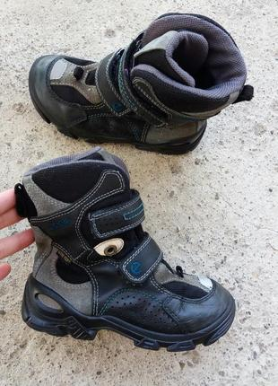 Р.28 ecco gore-tex (оригинал) ботинки.