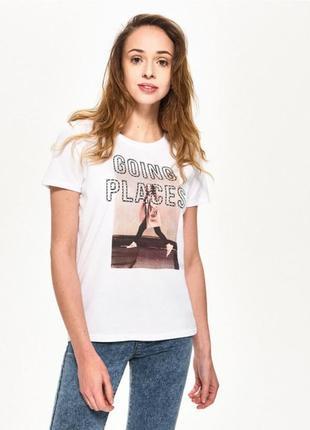 Женская футболка sinsay 1014