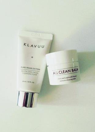 Набор для очищения лица heimish + klavuu