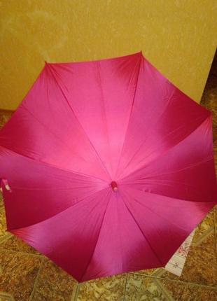 Парасоля зонт зонтик трость розовый мери кей mary kay мері кей мэри кэй