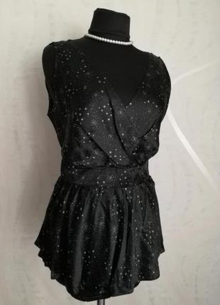 Шёлковая блузка laura ashley