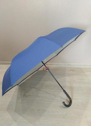 Ветрозащитный  женский зонт обратного сложения  topmove.