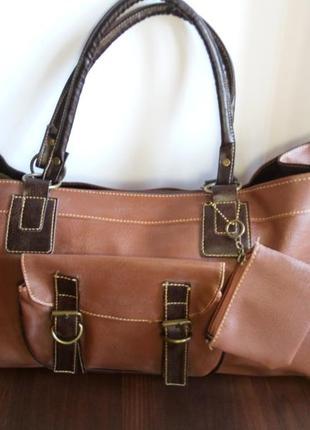 Новая отличная вместительная сумка