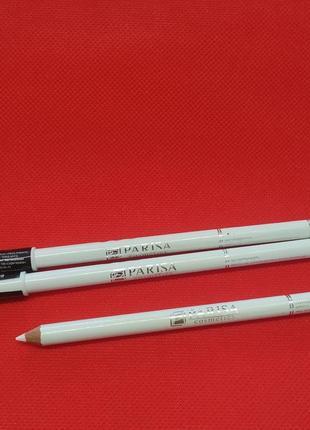 Білий матовий олівець для очей від parisa