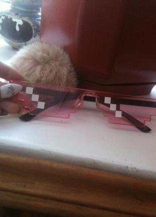 ♡ очки-криперы ♡
