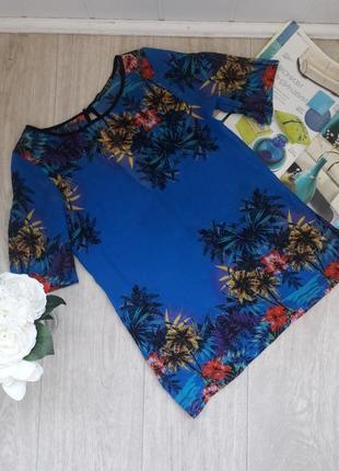 Модная шиыоновая футболка размер с atmosphere