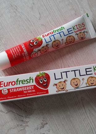 Детская зубная паста farmasi eurofresh strawberry toothpaste