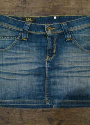 Продам оригинальную джинсовую юбку lee