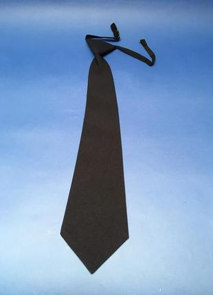 Галстук для форменной одежды рубашки на резинке