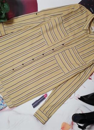 Брендовая рубашка next, вискоза, размер 20/48