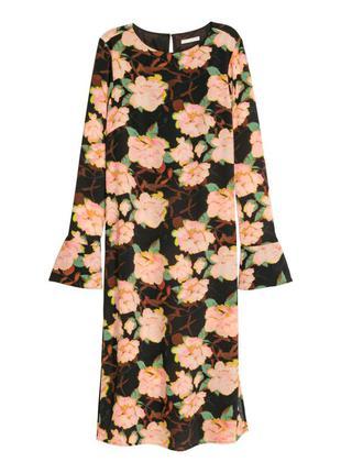 Hm платье в цветы