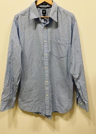Мужская рубашка gap p.xl. #524 1+1=3🎁
