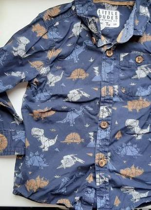 Рубашка 9-12мес