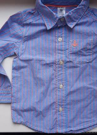 Рубашка 18мес