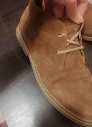 Ботинки замшевые,размер 38