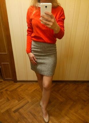 Супер юбка в полоску