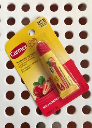 Бальзам для губ carmex клубничный