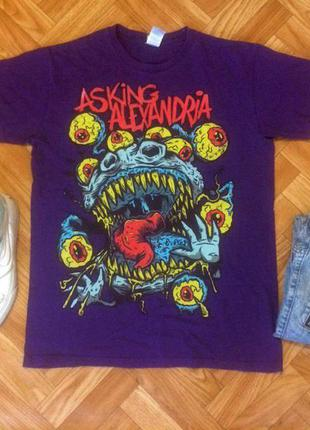 Отличная футболка от asking alexandria