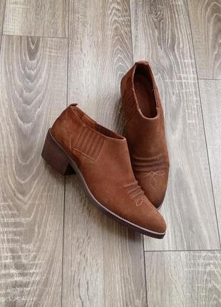 Ботінки-туфлі massimo dutti
