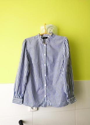 Рубашка с оборками papaya