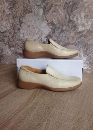 Clarks 36-37 р мокасини, туфлі/ кожа туфли, мокасины, туфельки