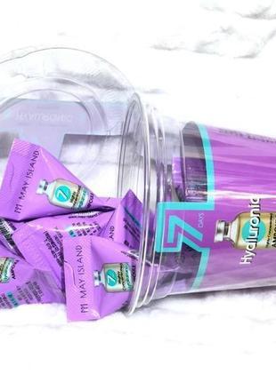 Набор ампул с гиалуроновой кислотой may island seven days hyaluronic ampoule -12*3 г