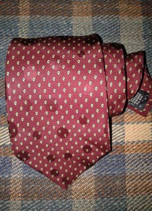 Шелковый галстук renato balestra, италия