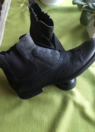 Мужские демисезонные ботинки- туфли р .42