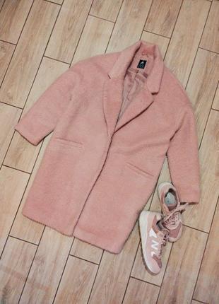 Пальто atmosphere пудровое брендовый оверсайз пиджак бойфренд весенний