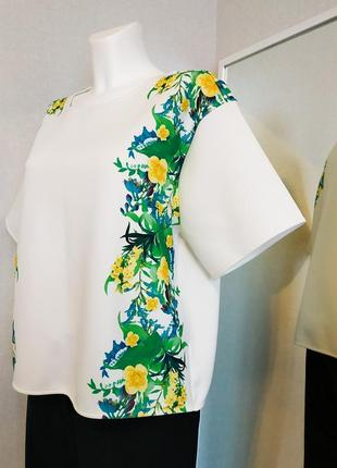 Неопреновая блуза оверсайз с декором next