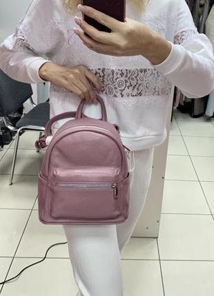 Шкіряний рюкзак кожаный рюкзак рюкзак из натуральной кожи италия