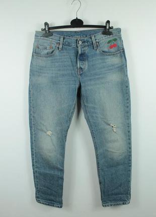 Шикарные оригинальные джинсы бойфренды levis bayan jean pantolon 501 ct