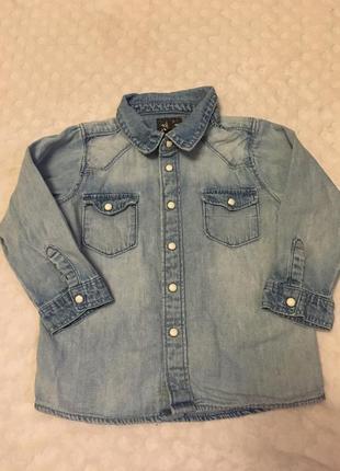 Дитяча рубашка h&m на 12-18 місяців