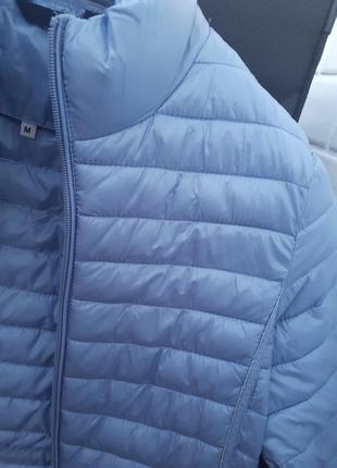 Голуба куртка