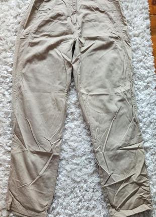 Хлопковые брюки мом бананы с высокой талией от casuals