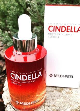 Сыворотка мульти-антиоксидантная с керамидами medi-peel cindella multi-antioxidant  100ml