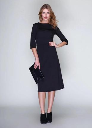 Комфортное платье приталенного силуэта фирмы mariem