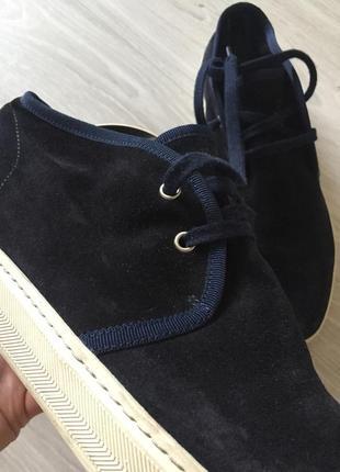 Кожаные итальянские сапоги ботинки zara