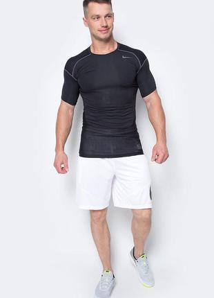 Оригинальная термо футболка nike black hypercool compression t-shirt 801235-010