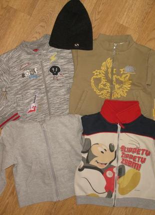 Лот № 12/модные кофты для мальчика/комплект одежды на 18-24 месяца