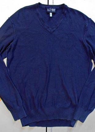 Armani jeans легкий джемпер размер l