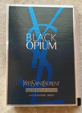 Пробник парфюма yves saint laurent - black opium intense