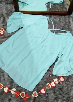 #розвантажуюсь блуза кофточка с перехлестом на спинке george