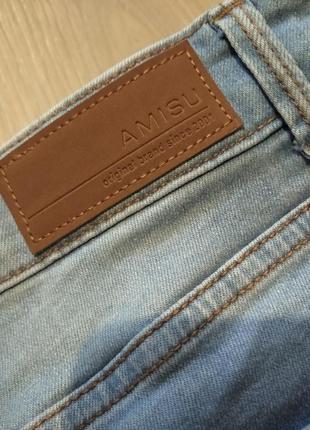 Брендовые брюки джинсы amisu