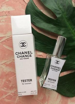 Chanel chance eau tendre,тестер 60мл