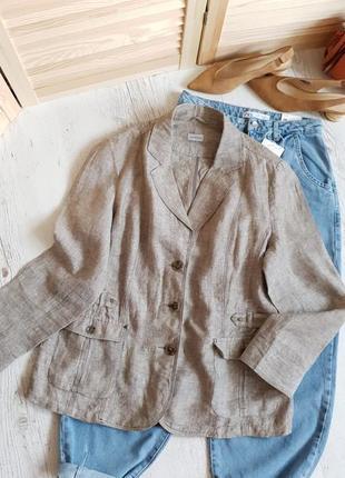 Пиджак c&a,ткань лён.