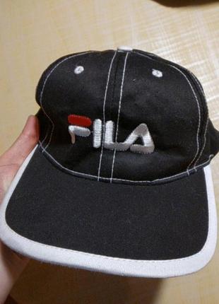 Чоловіча кепка, бейсболка fila, 100% бавовна